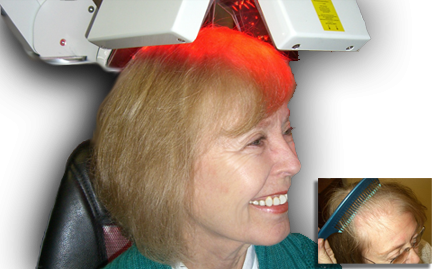 Hair Consultant has the most advanced Clinical Laser Hair Therapy Device for maximum results!